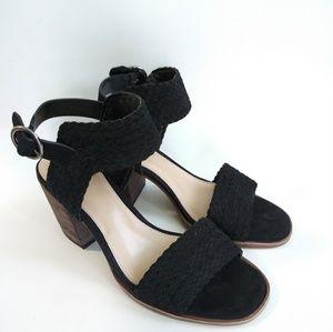 Vince Camuto black kolema shoe sandal size 8.t